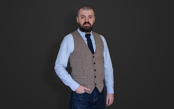 Tóth Zoltán a Pixlab csapat grafikusa